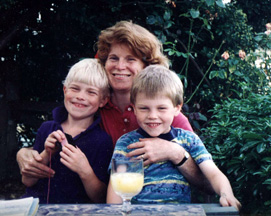 Alex, Ann and Patrick, 1994