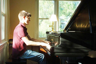 Patrick playing Chopin, 2008
